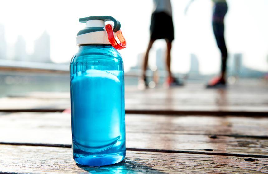 Reusable eco friendly water bottle